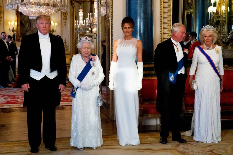 Melania Trump no Reino Unido