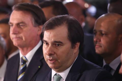 Demissão de Joaquim Levy foi covardia sem precedentes de Guedes, diz Maia