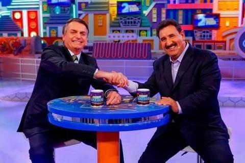Propaganda paga pela Presidência ficou com apresentadores de TV prediletos de Bolsonaro