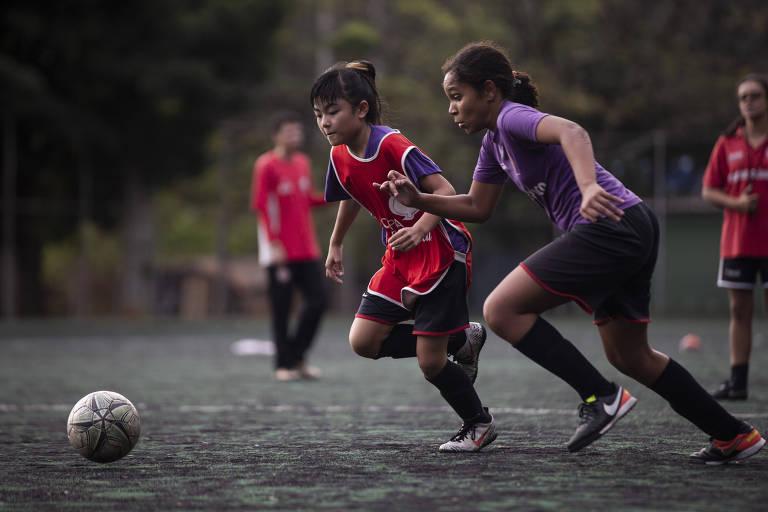 Centro Olímpico em São Paulo é o único clube do país com time sub-11 feminino