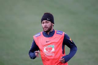 Copa America - Brazil Training