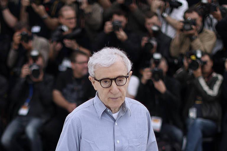 O cineasta americano Woody Allen