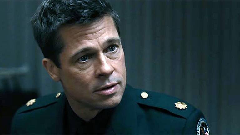 Brad Pitt em 'Ad Astra'