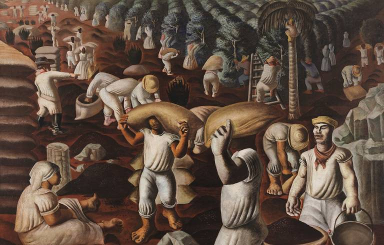 Obras do artista Candido Portinari