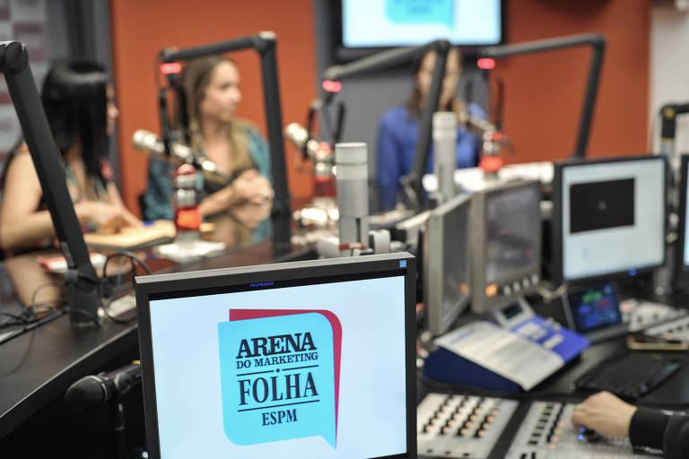 Programa Arena do Marketing, realizado pela Folha em parceria com a ESPM