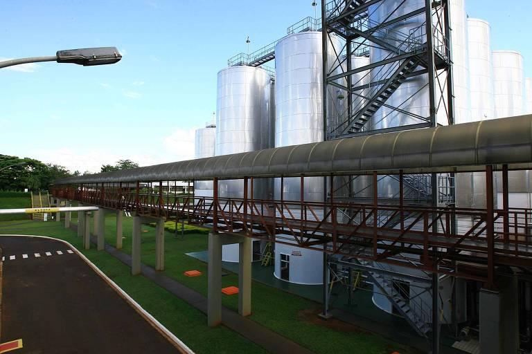 Fábrica de cerveja da Heineken, em Araraquara. Unidade foi ampliada e já é a segunda (da marca) maior do país