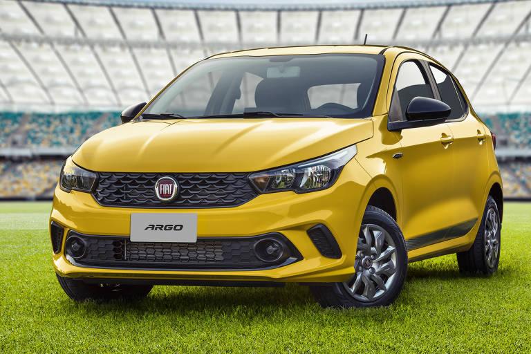 Nova patrocinadora da CBF, Fiat lança Argo Seleção