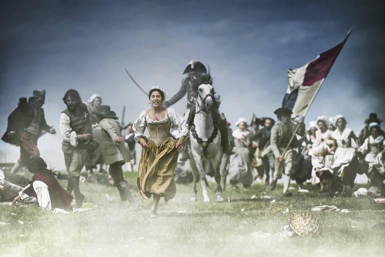 """Cena do filme """"A Revolução em Paris"""" Filme de Pierre Schoeller em cartaz no Festival Varilux. Foto: Divulgação."""