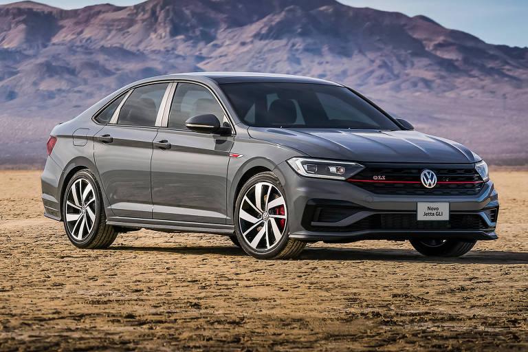Volkswagen Jetta ganha a versão esportiva GLI