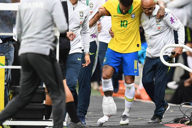 Amistoso entre Brasil e Qatar