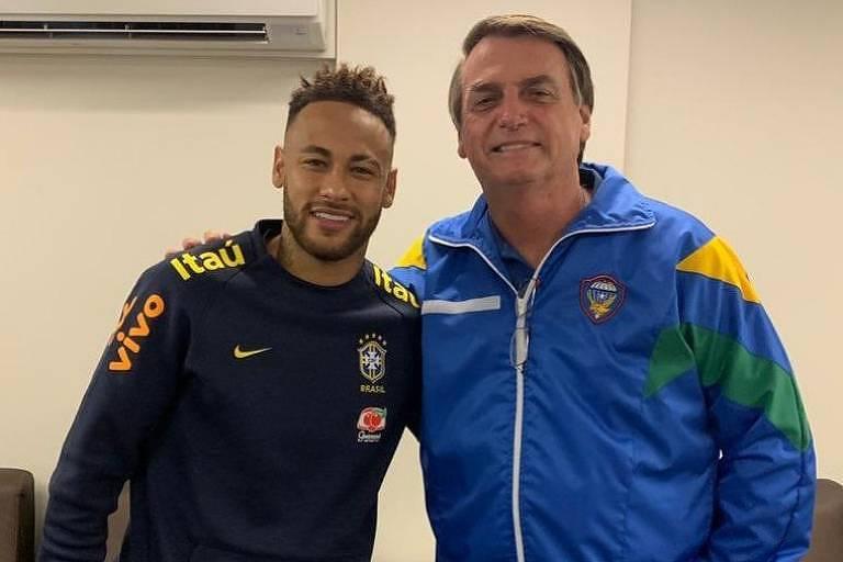 Bolsonaro e Neymar