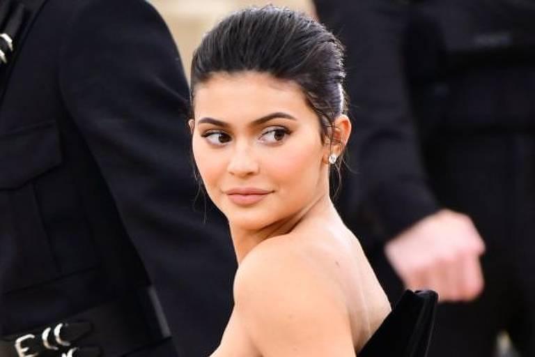 Kylie Jenner, de 21 anos, é a mais jovem da lista