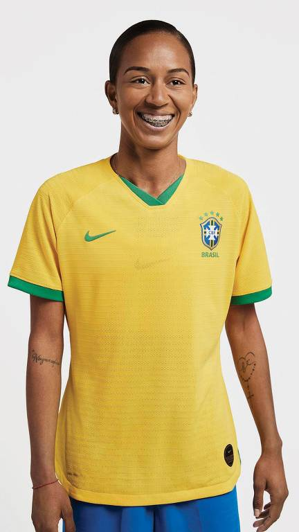 Camisas das seleções da Copa do Mundo Feminina