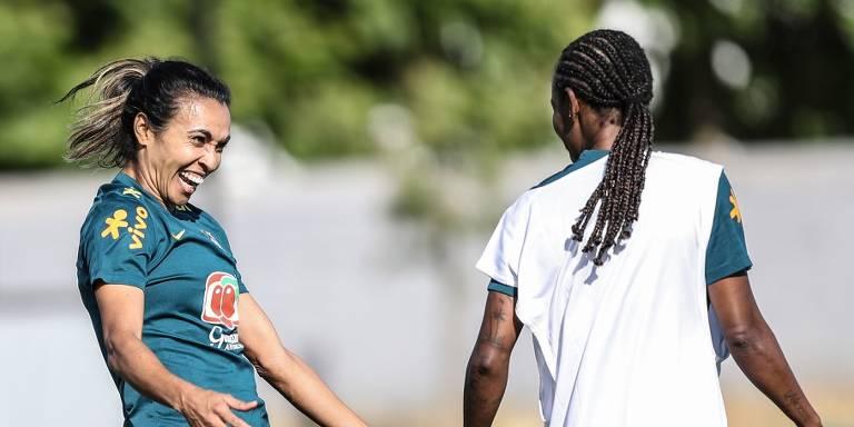 Adidas estuda negociar patrocínio com Marta, segundo diretor-geral