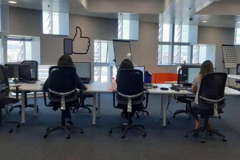 Centro de revisão de conteúdo do Facebook em Barcelona