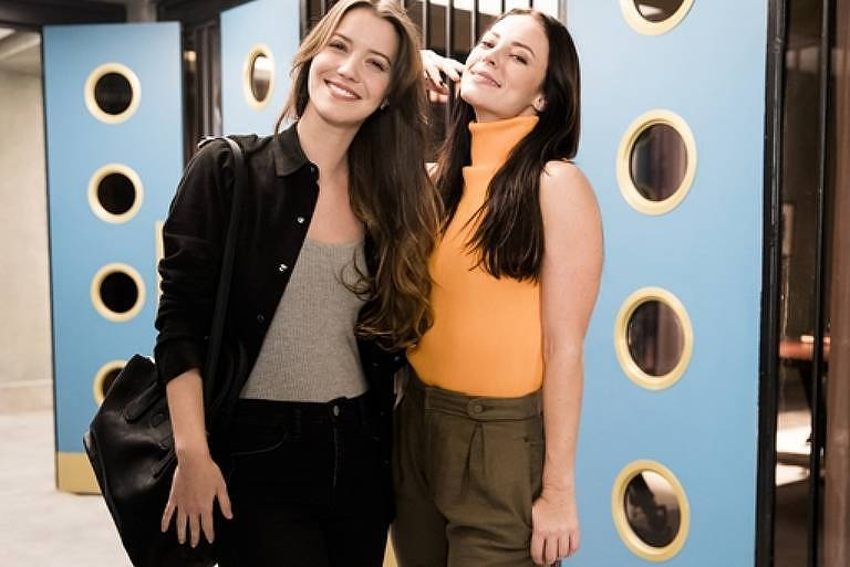 Nathalia Dill e Paolla Oliveira na novela A Dona do Pedaço