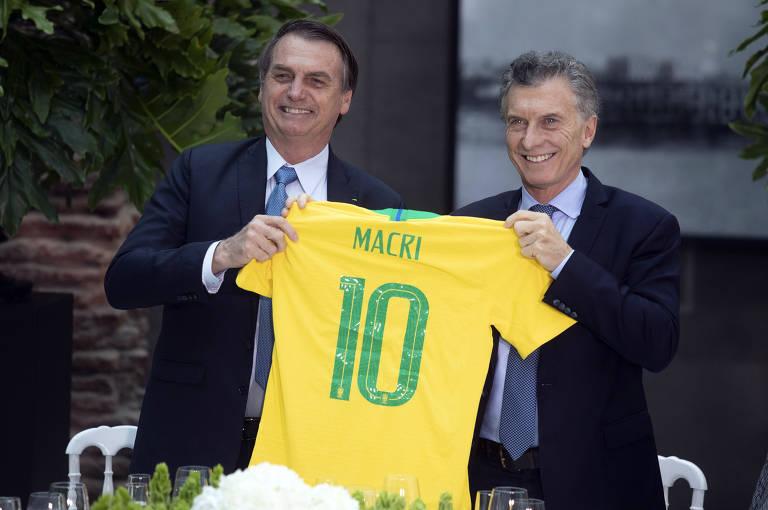 Jair Bolsonaro visita a Argentina
