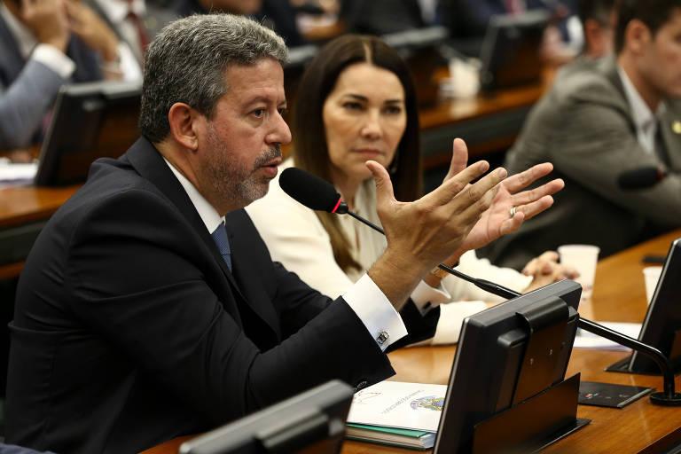 Deputado Arthur Lira (PP-AL) em sessão da CCJ da Câmara
