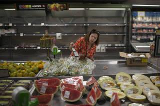 Desabastecimento de alimentos e preços altos no Rio de Janeiro