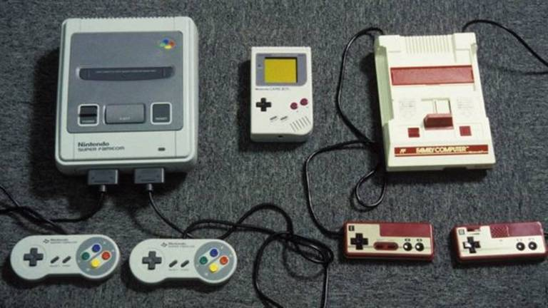 ideogames da Nintendo Super Famicon, Gameboy e Game Machine, de 1992