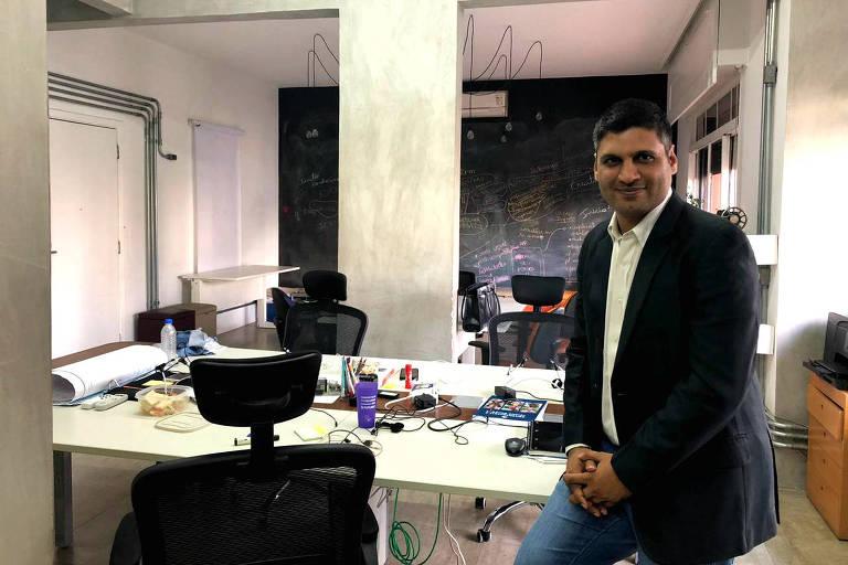 Yashveer Singh, um dos idealizadores do programa Ashoka Young Changemakers