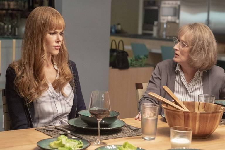 Nicole Kidman e Meryl Streep em 'Big Little Eyes'