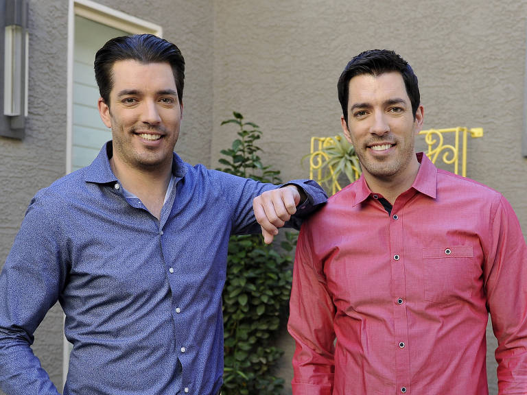 """Irmãos À Obra"": Jonathan Scott e Drew Scott"
