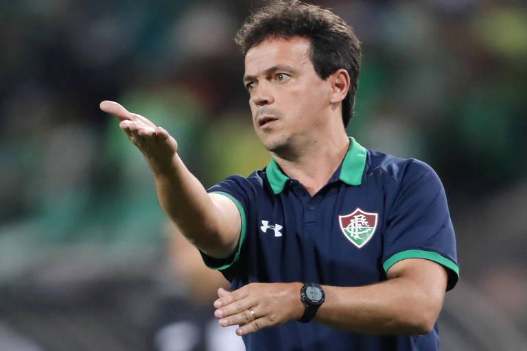 O técnico Fernando Diniz comandou o Fluminense nesta temporada