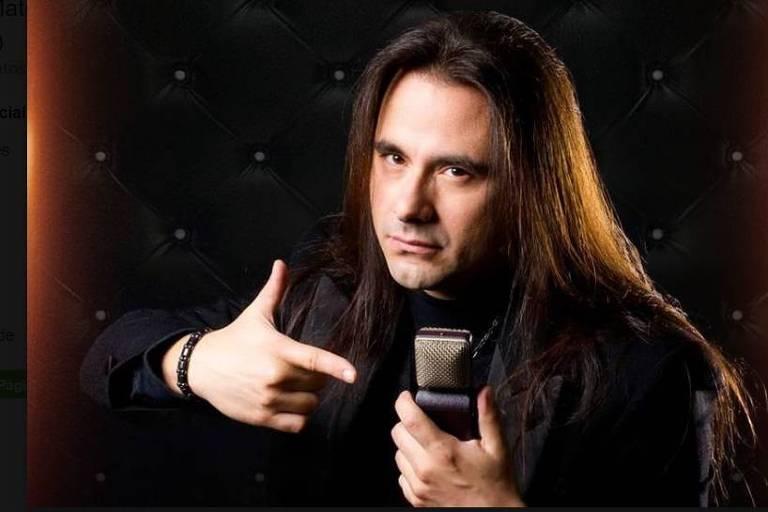O músico André Matos morreu