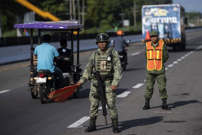México cedeu sobre a fronteira muito antes do acordo fechado por Trump