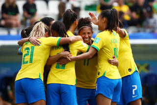 Women's World Cup - Group C - Brazil v Jamaica
