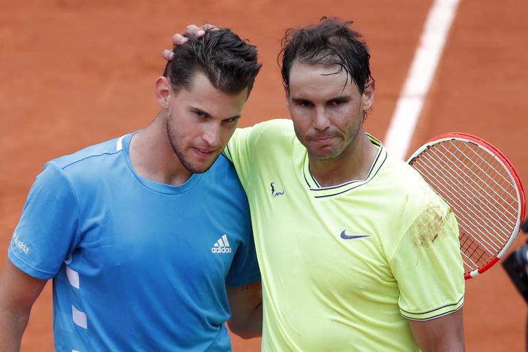 Espero ter mais uma chance contra Nadal em Roland Garros, diz Thiem