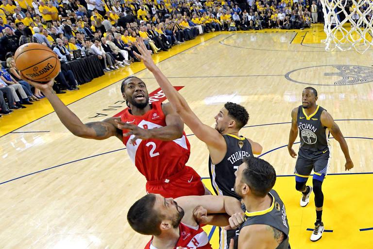 Com jogo na Band e na ESPN, Toronto tenta garantir título da NBA