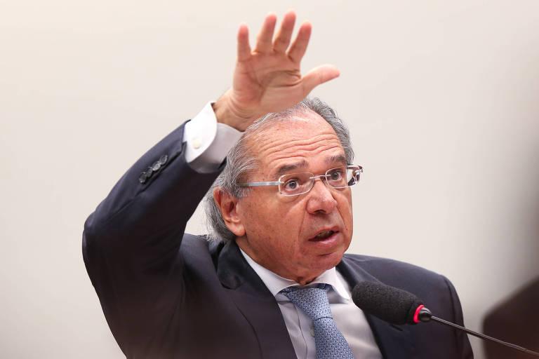 O ministro da Economia, Paulo Guedes; pasta busca diminuir déficit
