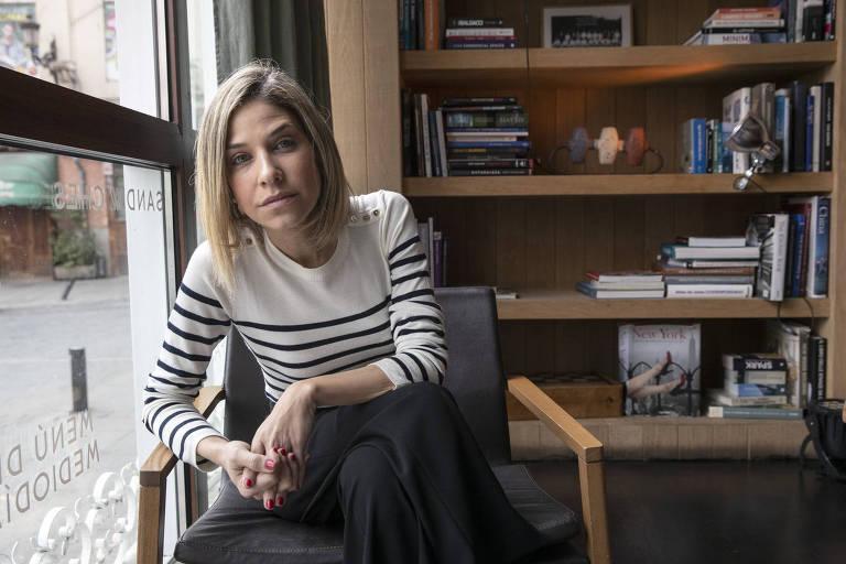 A jornalista e escritora venezuelana Karina Sainz Borgo, autora do livro 'Noite em Caracas' (ed. Intrínseca)