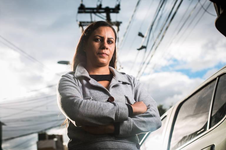 Nataly Gomes da Silva, 27, mora na favela São Remo, na zona oeste da cidade de São Paulo