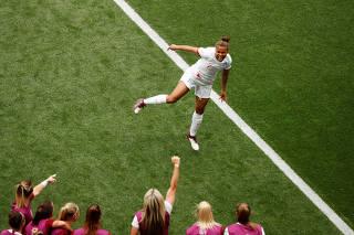 Women's World Cup - Group D - England v Scotland