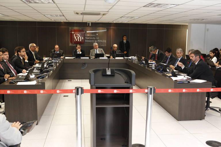 Sessão do Conselho Nacional do Ministério Público, em Brasília