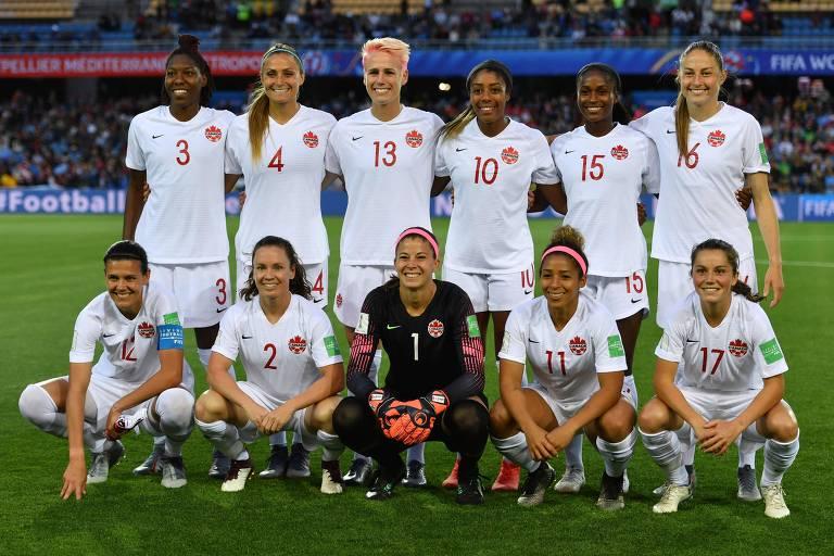 Das 23 canadenses convocadas para o Mundial, 13 atuam na liga norte-americana, por exemplo