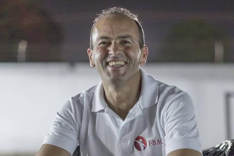 TIMON, MA - 11 AGOSTO: Valdeci Antonio Ferreira, diretor executivo da FBAC, posa para foto na APAC de Timon, no Maranhao, em 11 de agosto de 2017. (Foto: Renato Stockler)******PREMIO EMPREENDEDOR SOCIAL 2017****** ORG XMIT: AGEN1710181311006503