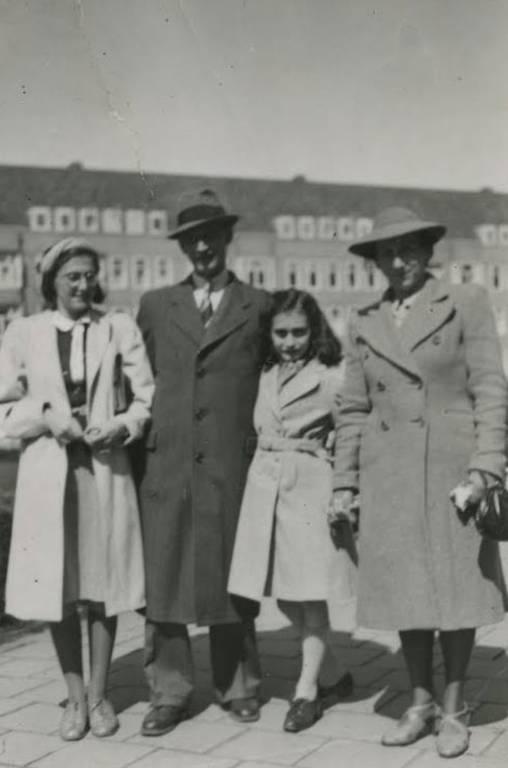 Foto da família Frank
