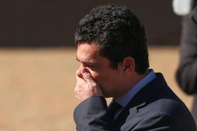 O ministro Sergio Moro (Justiça)