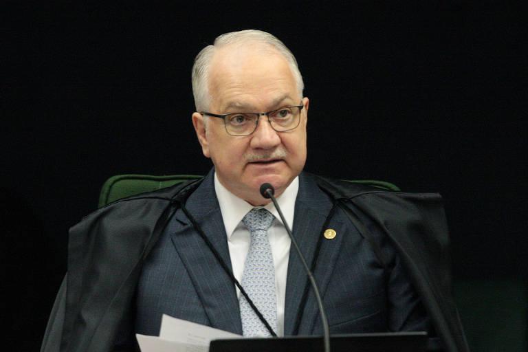 O ministro do STF Edson Fachin