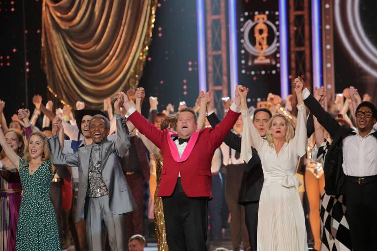Apresentação durante Tony Awards, mais importante premiação do teatro americano
