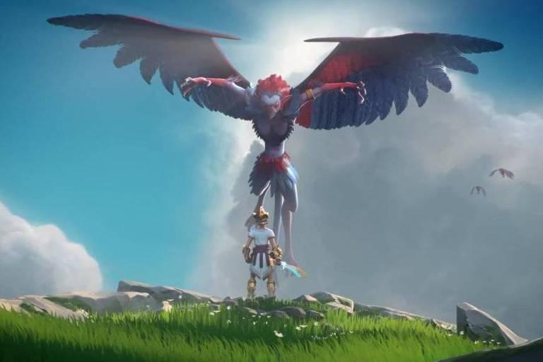 """Ubisoft lança novo jogo de ação e aventura baseado em mitologia grega chamado """"Gods & Monsters"""""""