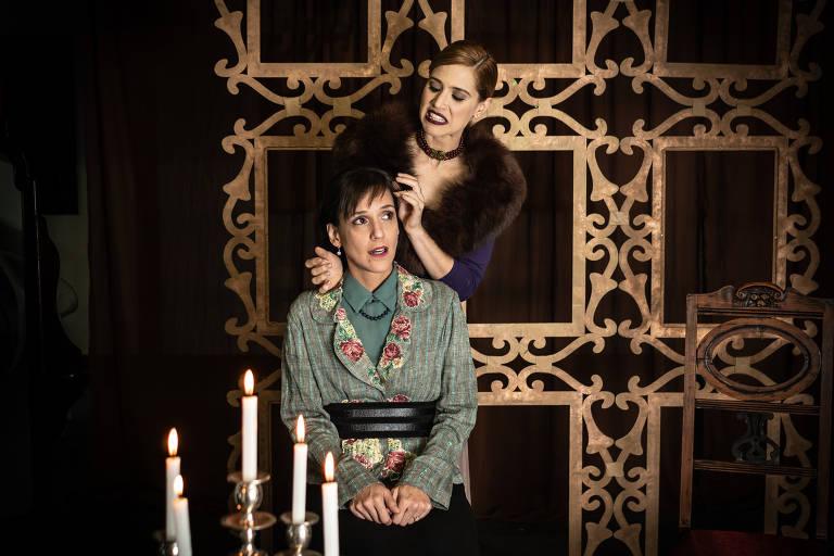 Mel Lisboa é imoral Hedda Gabbler em nova montagem da peça