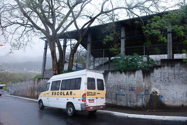Escola estadual no Jaraguá, zona norte de São Paulo