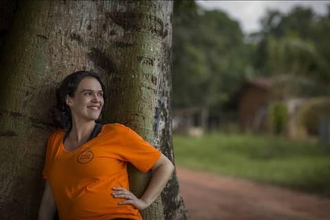 Local desconhecido, 17-07-2013: A historiadora, presidente da Associação Vaga Lume e finalista da 9ª edição do Empreendedor Social Sylvia Guimarães. Ela usa arte e cultura para resgatar talentos em pacientes e profissionais de saúde. (Foto: Na Lata). ***DIREITOS RESERVADOS. NÃO PUBLICAR SEM AUTORIZAÇÃO DO DETENTOR DOS DIREITOS AUTORAIS E DE IMAGEM***
