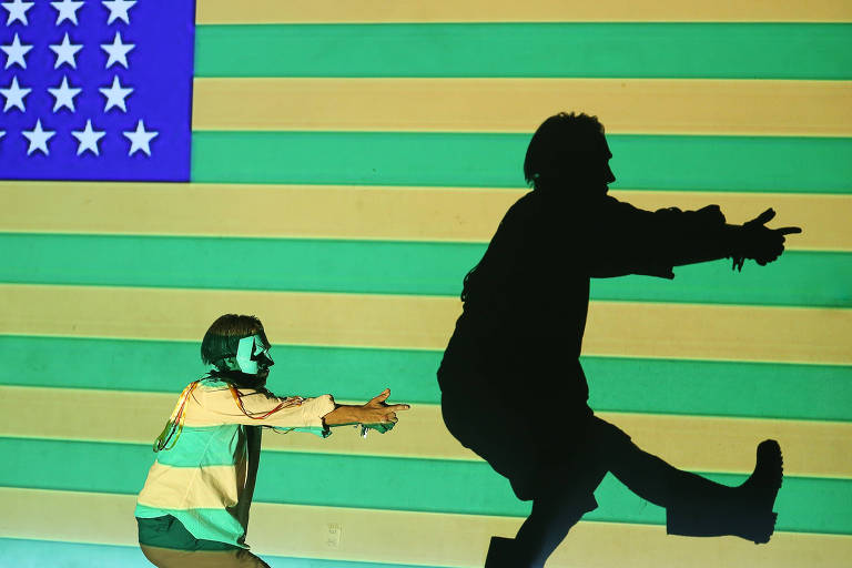 Imagem do espetáculo Alice&Baltazar ou Indevassável