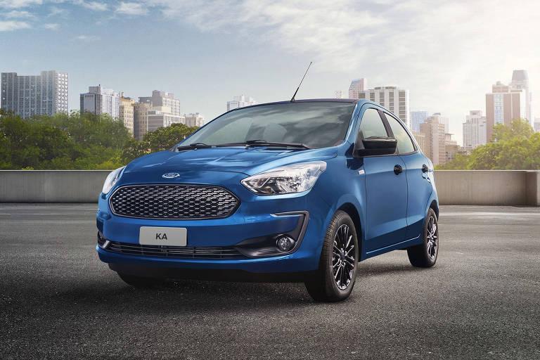 Ka e EcoSport ganham série especial para os 100 anos da Ford